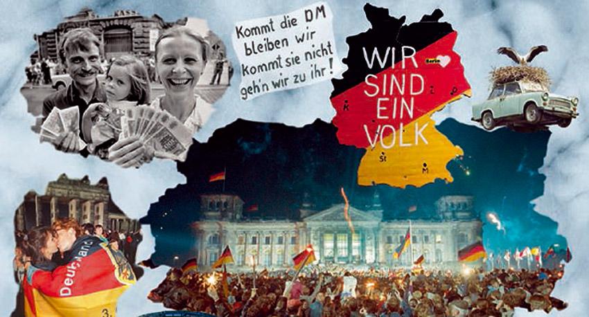 deutsche wiedervereinigung 1990